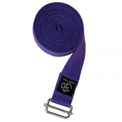 ASANA BELT PRO, 3m x 38mm, boucle en métal violet