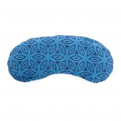 Augenkissen Baumwolle, vegan blau (Lotus)