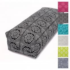 Maharaja Collection : Bolster de yoga SALAMBA, 64 x 25 x 17 cm