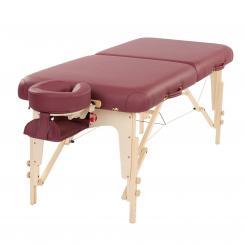 Table de massage TAOline BALANCE II 76 cm bordeaux