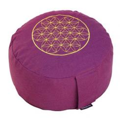 Meditation cushion RONDO BASIC - Flower of Life