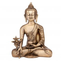 Buddha Statue golden, ca. 18 cm