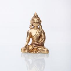 Statuette de Buddha, laiton, 8 cm
