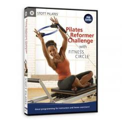 STOTT PILATES DVD - Pilates Reformer Challenge with Fitness Circle