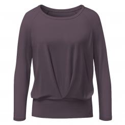 CURARE Shirt Box Pleat aubergine