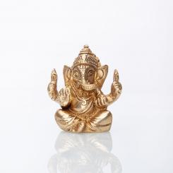 Statuette de Ganesha, laiton, 7 cm