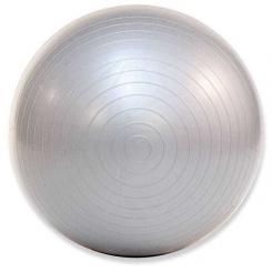 Ballon de gymnastique (anti-éclatement) Ø 75 cm (argenté)