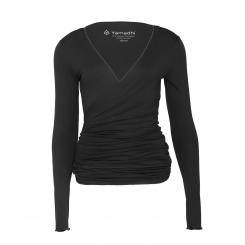 Yamadhi Wrap Jacket Viskose black