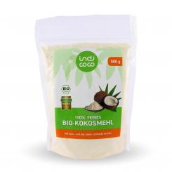 Bio-Kokosmehl, 500 g - indi coco