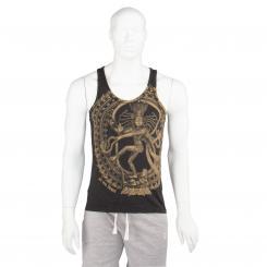 Bodhi Yoga Shirt Männer - NATARAJ, anthracite