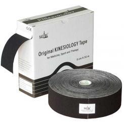 Nasara Kinesiologie Tape schwarz 32 m
