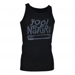 OGNX Mens Tank Top, Yogi by Nature black