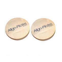 Disques rotatifs d'Align Pilates (paire)