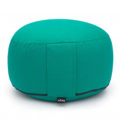 Meditationskissen RONDO CLASSIC standard abnehmbar | Kapok | grün (Köper)