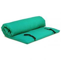 Shiatsumatte mit abnehmbarem Bezug 120x200 cm | grün | 4 lagig