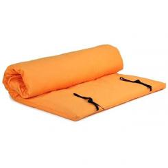 Shiatsu mat with removable cover