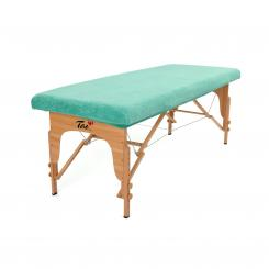 Terry Fitted Sheet for Massage Tables S jade