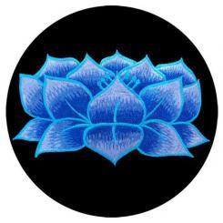 Coussin de méditation RONDO avec Lotus