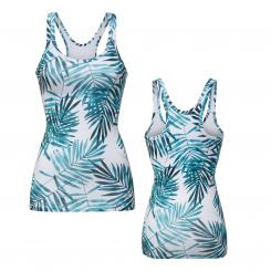 CURARE tank top, jungle-print