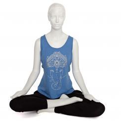 Débardeur femme BODHI - Ganesha, bleu