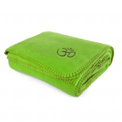 Yoga blanket ASANA apple green