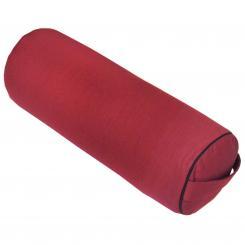 Yoga BOLSTER CLASSIC weinrot | Dinkelhülsen