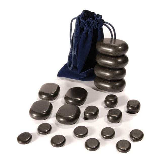 Hot Stone set, 20 pieces