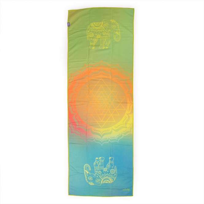 Serviette de yoga GRIP² - Elephant Dreams