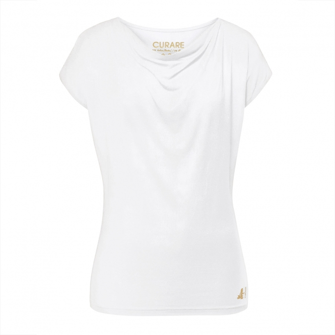 CURARE gold edition shirt Wasserfall, white