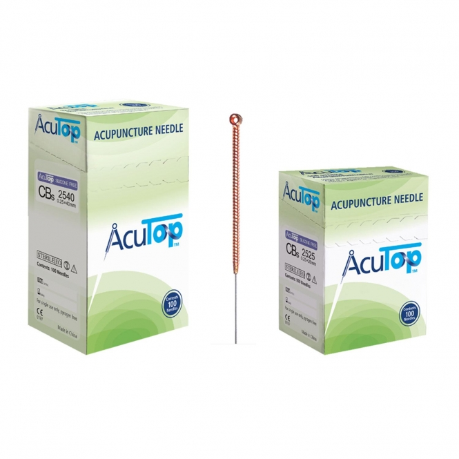 AcuTop Acupuncture Needles CBs, 100 Pcs.