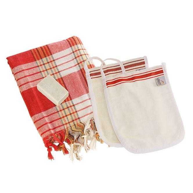 Hamam Set II red, special offer