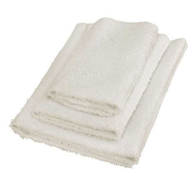 Hot Stone wraps with 3 pockets, terrycloth - set of 3 sizes