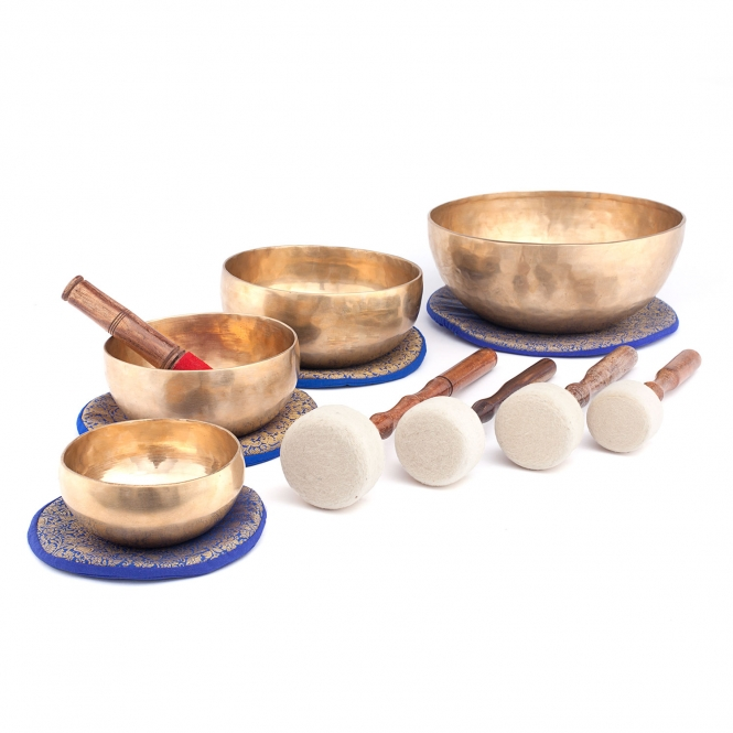 Singing bowls,4 pcs.