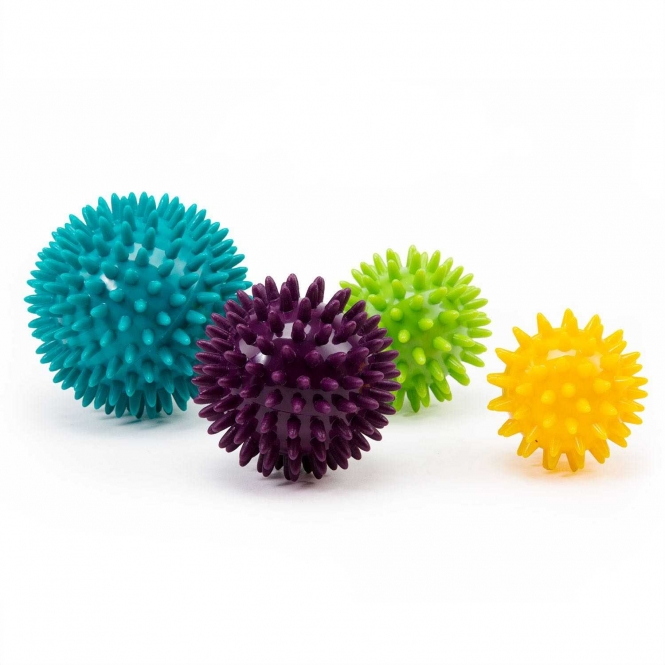 Spiky Massage Ball, Set of 4 balls