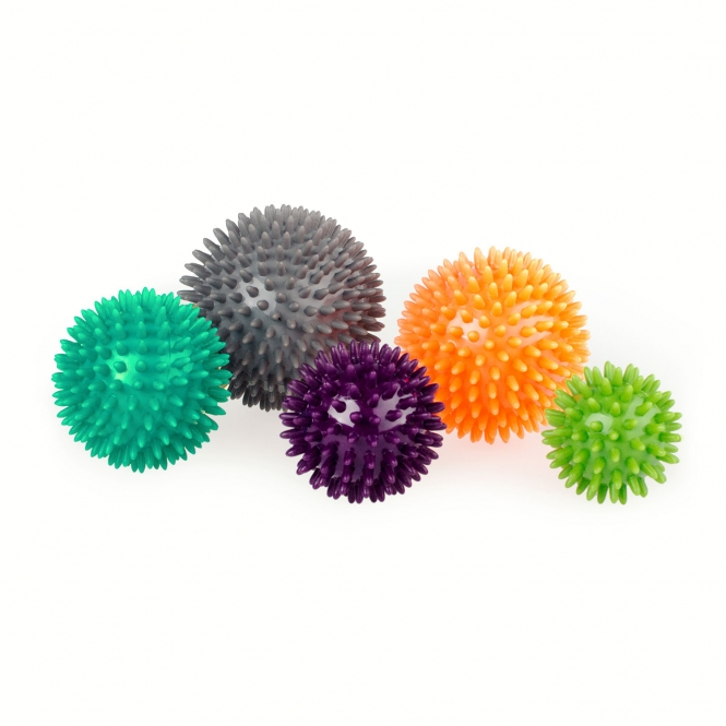 Spiky Massage Ball, Set of 5 balls