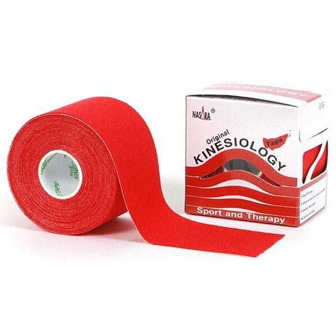 Nasara Kinesiology Tape red