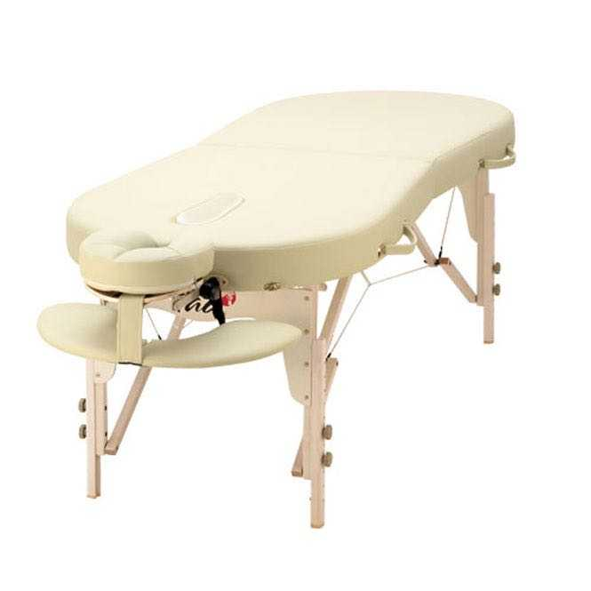 Massage table TAOline CONTOUR 75 cm, beige
