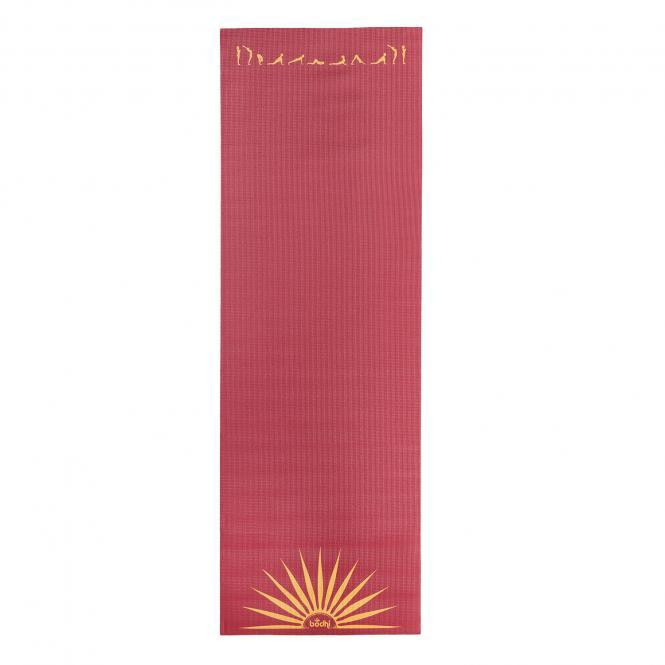 Tapis de yoga design SALUTATION AU SOLEIL, The Leela Collection