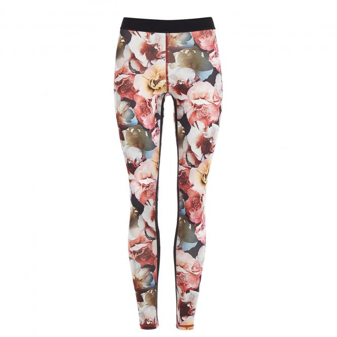 Mandala Fashion Fancy Leggings, rose print