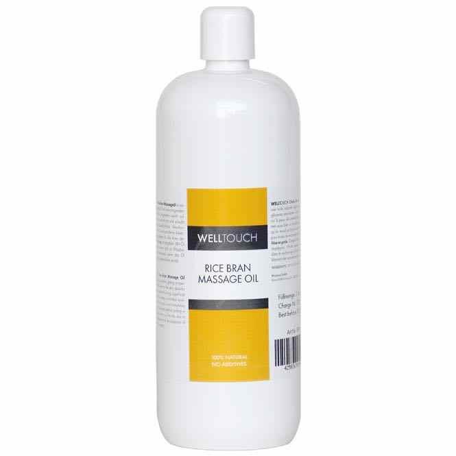 WellTouch Reiskleie Massageöl 1 l Flasche