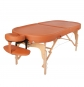 Massage table TAOline AYURVEDA OVAL, terracotta