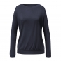 CURARE langarm turtleneck, midnight-blue