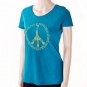 Bodhi Yoga Shirt Damen - PEACE, ocean
