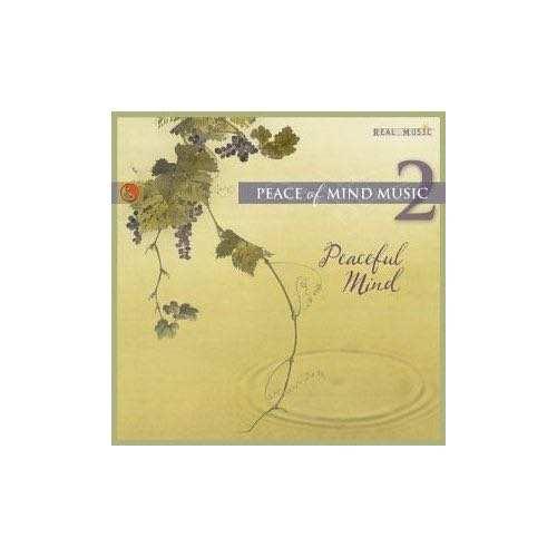 CD Peace of mind music - Vol. 2 - peaceful mind
