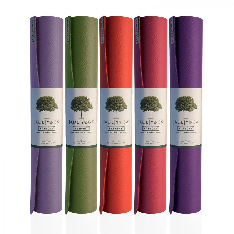 Yoga mat jade Harmony   caoutchouc