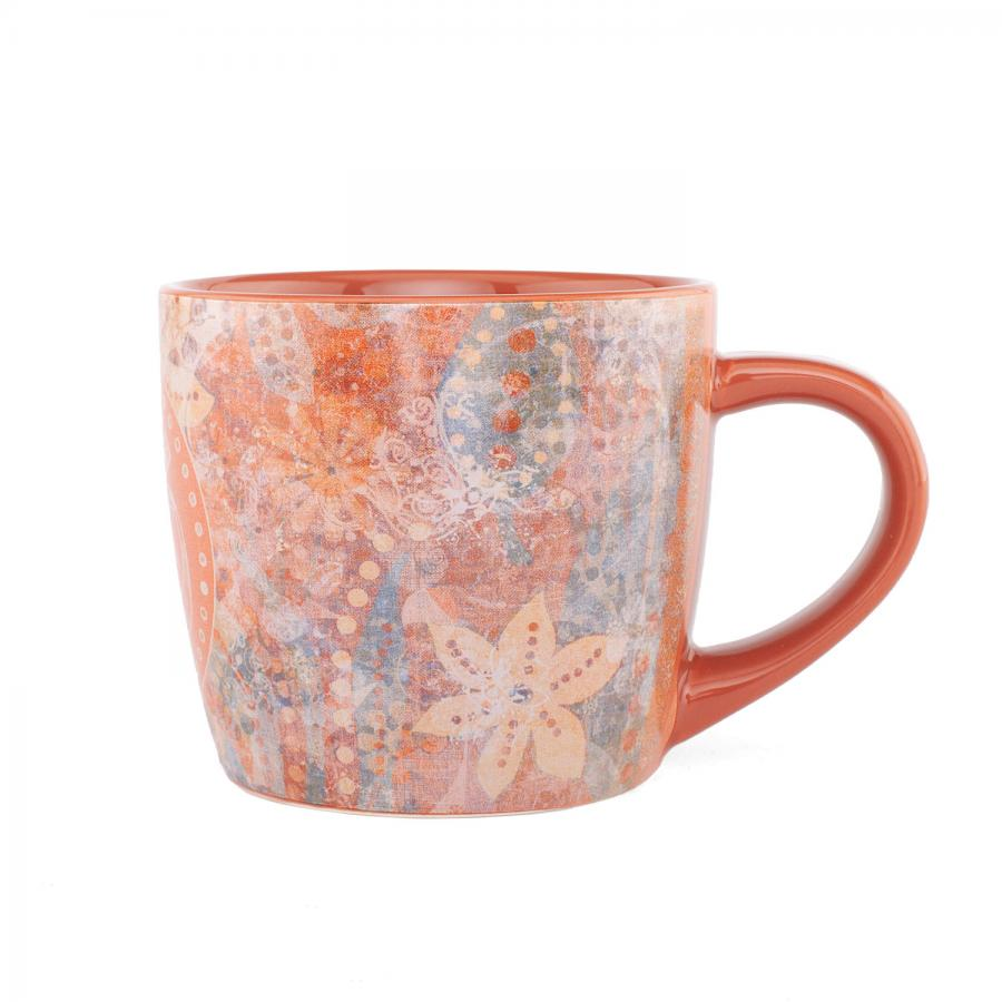 bodhi YogiMug Ceramic Mug rusty red