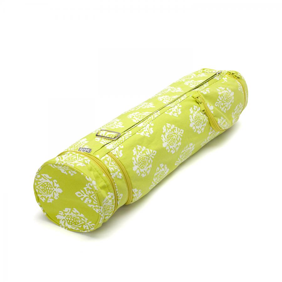 Maharaja Collection : sac de yoga coton ASANA Shimla, citron vert | 60 cm