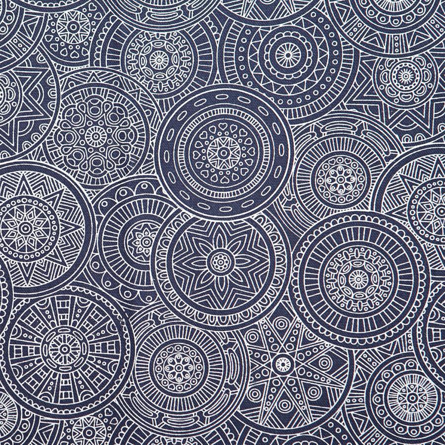 Palettenauflage, Maharaja Collection, 120 x 80 cm Mandala, dunkelblau