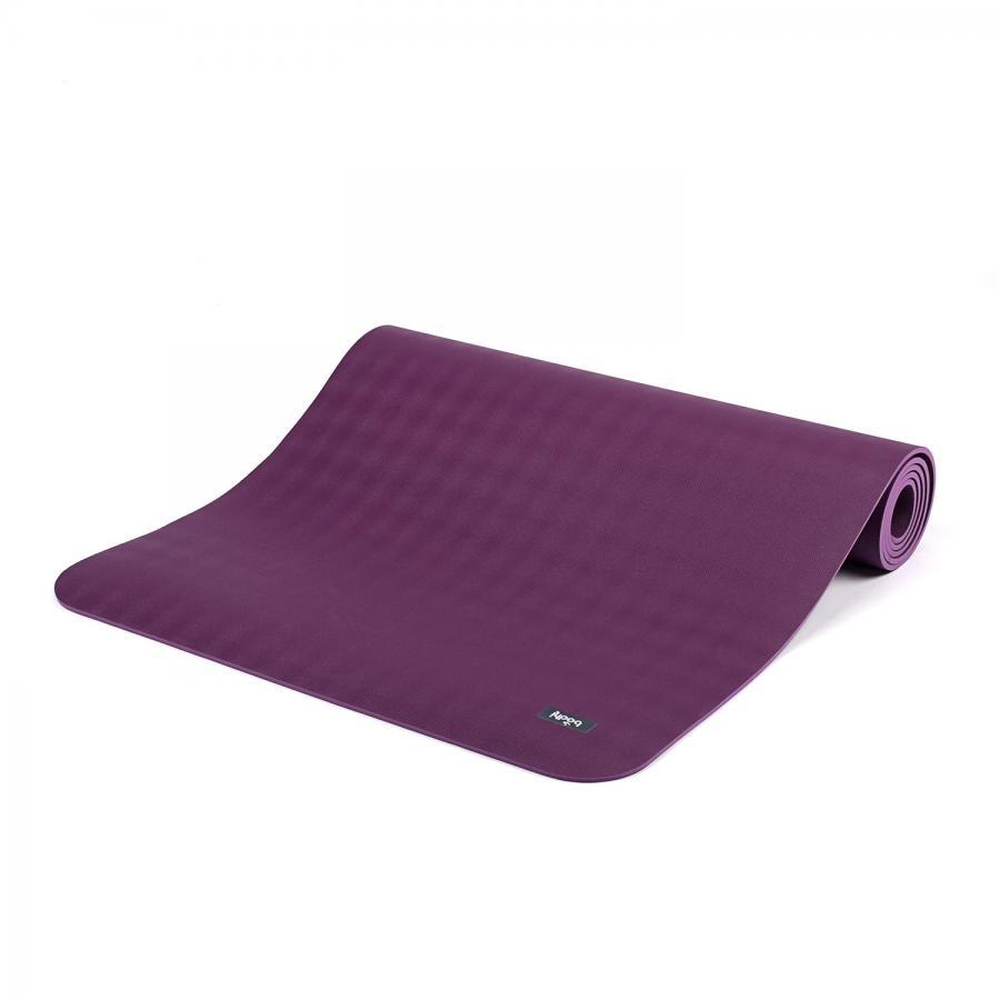 Naturkautschuk Yogamatte ECOPRO DIAMOND violett