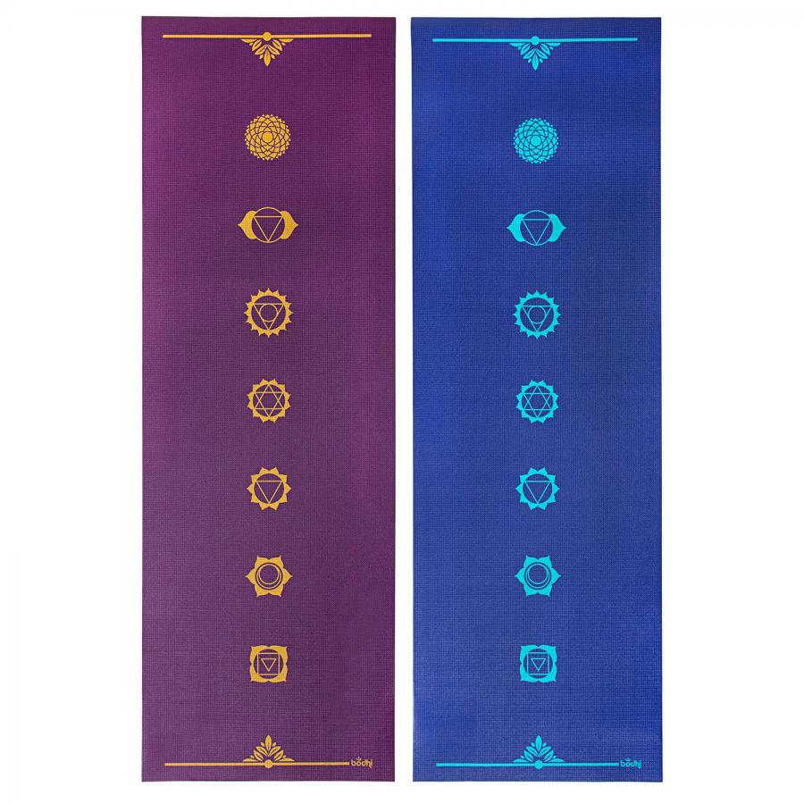 Tapis de yoga design CHAKRAS, The Leela Collection
